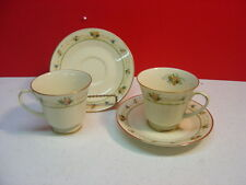 Noritake China NORMANDY Two Cup and Saucer Sets