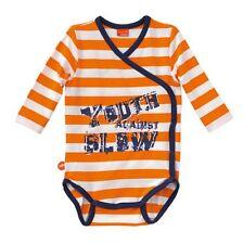 Original KTM Body bébé Against Slow rayé orange 18 mois neuf