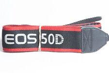 Canon Genuine EOS 50D Black / Red / White DSLR Camera Neck Strap