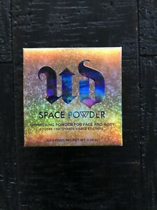 2 New! URBAN DECAY Space Powder Shimmer Highlighter Face Body 2.5g