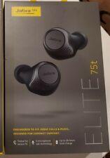 Jabra - Elite 75t True Wireless In-Ear Headphones - Titanium Black