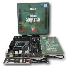 MSI B150M MORTAR Micro ATX Intel LGA1151 DDR4 Desktop Motherboard