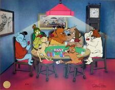 FULL DOG HOUSE Chuck Jones Looney Tunes Cell Poker K-9 Marc Anthony Kitty WB Cel