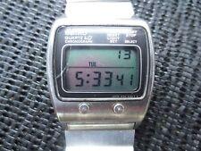 Very Rare Vintage 1977 Seiko M159-5039 Chronograph LCD  Watch (JAMES BOND)