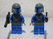 2) Mandalorian Bounty Hunters Star Wars Lot Lego Minifigure Mini Figure Fig