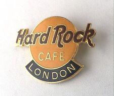Hard Rock Cafe LONDON Classic HRC Logo Pin Red/Yellow/Black P.C. Parry England
