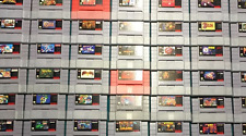 10 SNES Game Lot Super Nintendo (Cartridge Only) NO COVERS/CASES *GAMES VARY*