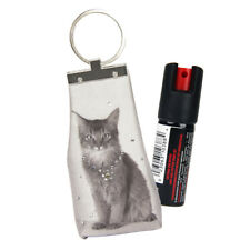 Pfefferspray (Strahl) zur Tierabwehr in trendiger Schlüsselanhängertasche