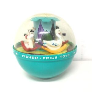 Vintage Original Fisher-Price Toys - Roly Poly Chime Ball 165 #405