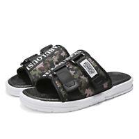 Men's Slippers Flip Flops Camouflage Casual Non-slip Beach Shoes Summer Sandals