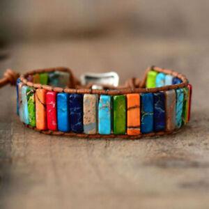 7 Chakra Bracelet Crystals Healing Stones Beads Jewellery   Reiki Anxiety Gift