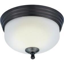 Quoizel Demitri Flush Mount Bath Ceiling Light Fixture Harbor Bronze DI1611HO