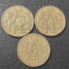 1984 1985 1986 Australian One Dollar $1 Coin
