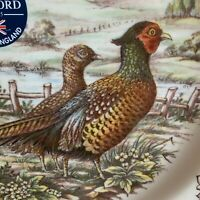 Royal Stafford Pheasant Homeland Harvest Porcelain One Dinner Plate NEW.
