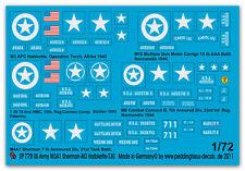 1/72 US Markierungen für M4A1-M3-M8 779