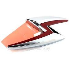 JDM Nissan Silvia Lightning Bolt Emblem Badge Chrome 240SX S15 SR20DET OEM