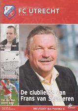 Programme / Magazine FC Utrecht Nummer 4 April 2008 seizoen 2007/2008