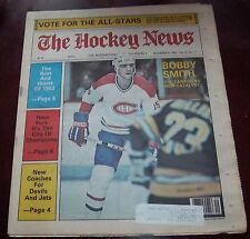 The Hockey News vol 37 no.11 December 9 1983  Bobby Smith Montreal Canadians