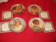 Cherubs of Innocence 4 Plates Series Complete Mint Bradford Exchange