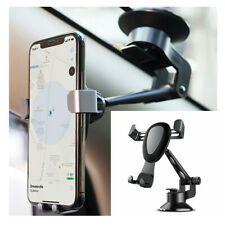 Grey Car interior Dashboard Gravity Air Vent Mobile Phone Holder Bracket