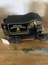 Franklin Mint Precision Model T Die Cast Car Franklin Center Police Patrol
