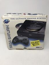 Sega Saturn System Console Box. Empty box only!