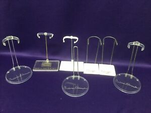DOLL STANDS (7) FOR MADAM ALEXANDER DOLLS (8) INCHES TALL OR FOR GINGER DOLLS.