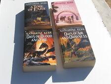 Katharine Kerr 4 book lot Deverry The Westlands mmpb