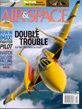 AIR & SPACE JAN 05 RQ-4A GLOBAL HAWK_VOSKHOD 2 SPACEWALK_P-61_OV-10_DH.100_C-119