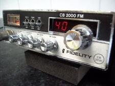 Fidelity 2000 CB radio completamente reparado