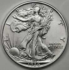 1936-p Walking Liberty Half.  A.U.  98366  (Inv. A)