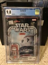 Star Wars #13 A New hope Action Figure Variant R5-D4 Droid CGC 9.8