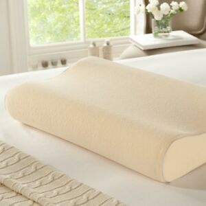 Cool Max Contour Pillow Memory Foam Pillow With Bamboo Zipped washable cover
