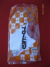Genuine Pair Japanese Tabi Socks 2-Toe Ankle Sock Geisha NIB Sz. Medium ~*~*~*~*
