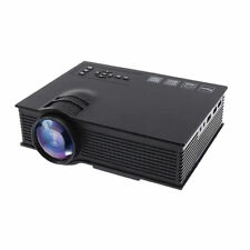 "130"" Big Screen 3D LED Portable Projector 1200 Lumen WiFi Projector HD Ready"