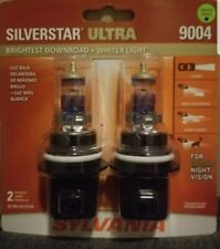 Sylvania SilverStar Ultra 9004 Dual Pack Halogen Headlights Brand New/Sealed!