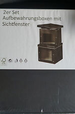 kisten aus karton mit deckel g nstig kaufen ebay. Black Bedroom Furniture Sets. Home Design Ideas
