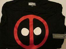 Marvel Comics Deadpool Icon Black T-Shirt Medium with Tag Make Me an Offer