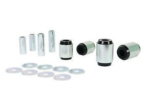 Whiteline Control Arm Bushing Kit Front Lower W53655 fits Toyota Fortuner 2.8...