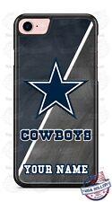 Customized Dallas Cowboys Logo Blue Phone Case For iPhone Samsung S20 LG Google