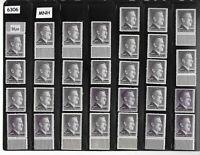 #6306    MNH 2RM Adolph Hitler Third Reich stamp lot X 30 / 1942-1944 /  Sc525a