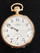 Ball Watch Co. Cleveland 21j Official Railroad Standard 1899 16s Pocket Watch