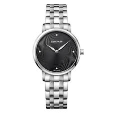 Wenger Women's Watch Urban Donnissima Black Dial Steel Bracelet 01.1721.105