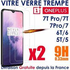 VITRE VERRE TREMPE POUR ONEPLUS 6 6T 7T 7 PRO 5 PROTECTION ECRAN GLASS ECRAN