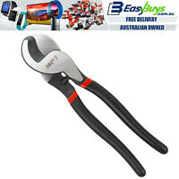 """MPT Commercial Wire Cable Cutter 250mm 10"""" Cr-V Braided Cutters Pliers Snips NBN"""