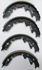 "FRONT Brake Shoes fits Subaru FF1 1300 Station Wagon 1972-1973 9"" 10224"