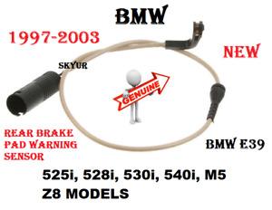 Rear Brake Pad Wear Sensor For BMW E39 525i 528i 530i 540i M5 Z8 Models GENUINE