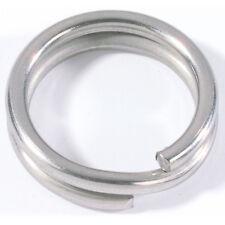 50 sprengringe-Spring anneaux-Split Rings-Rosco 15 mm//68 kg//Acier Inoxydable