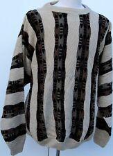 Sweaters - Crew Neck - Fancy - MultiColored - Protege #G - USA -2X-BIG