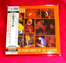 Nirvana From The Muddy Banks Of The Wishkah JAPAN SHM MINI LP CD +DVD UICY-94348